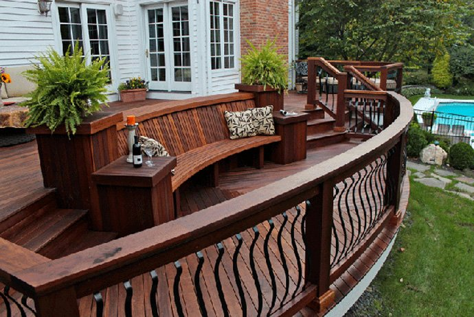 Deck painting staining company